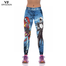 VIP FASHION 2019 New Products Women 3D Halloween Dracula Printed Leggings Workou