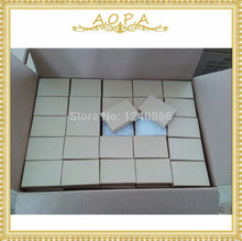 #32ジュエリークラフトブラウンボックス綿充填ボックス100個包装3 1/16 × 2 1/8 × 1(7.78X5.40X2.54CM)