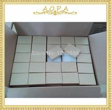 #32 bijoux kraft brun boîte avec coton rempli boîte 100 pièces pour lemballage 3 1/16x2 1/8x1(7.78X5.40X2.54CM)