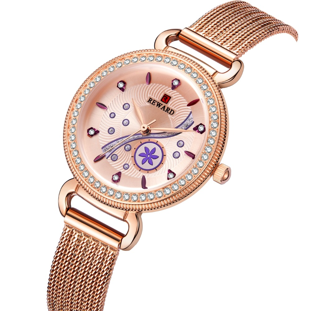 REWARD Womens Watch Fashion Luxury Diamonds Waterproof Women Watch For Women Relogio Feminino Women Ladies Watch Reloj MujerREWARD Womens Watch Fashion Luxury Diamonds Waterproof Women Watch For Women Relogio Feminino Women Ladies Watch Reloj Mujer