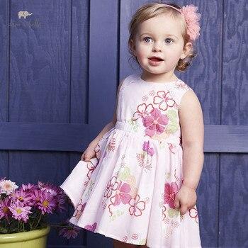 DB4385 dave bella summer baby girls prin...