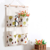 Wall Hanging Storage Bags Hanging Organizer Linen Closet Hanging Storage Pockets Organizador De Zapatos Hanger Pouch