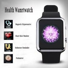Gesundheit Bluetooth Smartwatch A9S für ISO iPhone Android mit Herz rate 8 GB RAM Kamera Schrittzähler Sim Smart Uhren Uhr Telefon A9