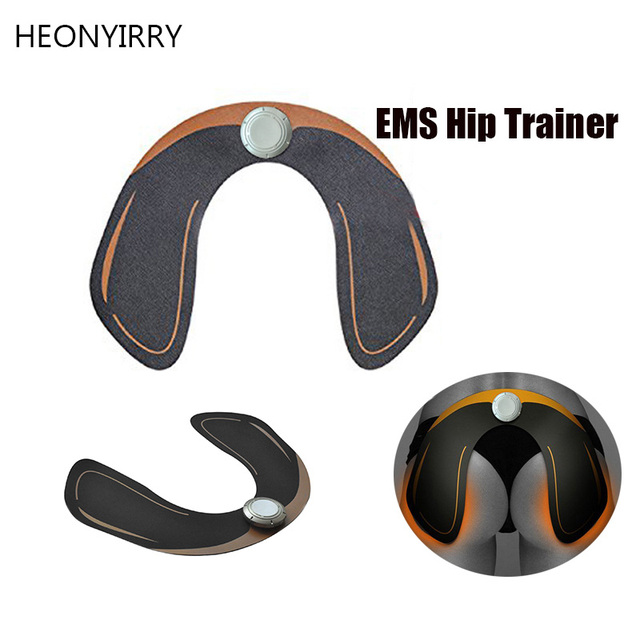 c9781435fcb HOT EMS Intelligent Hip Trainer Buttocks Lifting Waist Body Beauty Machine  Rechargeable Battery Beauty Massage Relaxtion Machine