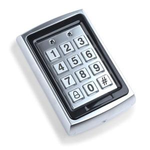Image 3 - RFID in metallo Tastiera di Controllo di Accesso 125 KHz Controller di Accesso Autonomo con Impermeabile Della Copertura di Caso Della protezione + 10 pcs Portachiavi RFID Carte