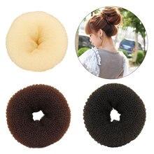 Size S/M/L Fashion Women Magic Shaper Donut Hair Ring Bun Maker Accessories Lady Styling Tool Headwear Drop Ship