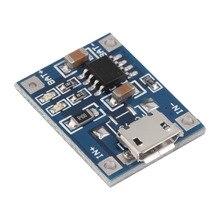 1pcs 5V Mini MICRO USB 1A TP4056 Lithium Battery Module Li ion Batteries Charging Charger Board Module Wholesale
