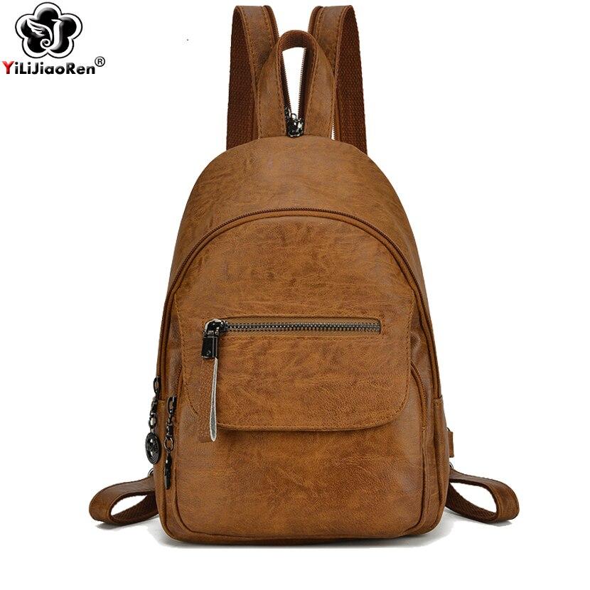 Fashion Women Backpack Purse Brand Leather Backpack Female Designer Chest Bag Luxury Backpacks Shoulder Bags For Women Mochila