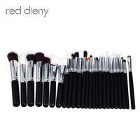 MAANGE 25 Pcs Professional Makeup Brushes Set Power Foundation EyeShadow Blush Blending Make Up Beauty Cosmetic