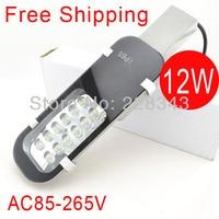 משלוח חינם מכירה AC85 265V12W led רחוב אור IP65 Epistar 1200 1300LM LED led רחוב אור 2 שנה אחריות-בפנסי רחוב מתוך פנסים ותאורה באתר