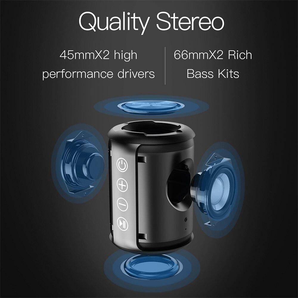 Bluetooth speaker Portable Wireless Loudspeakers For Phone Stereo Music surround Waterproof Outdoor Speakers Box|Portable Speakers| |  - title=