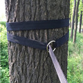 Esencial puede contener 200 kg al aire libre Camping senderismo hamaca colgante cinturón hamaca Correa cuerda con hebilla de Metal cuerda de carga