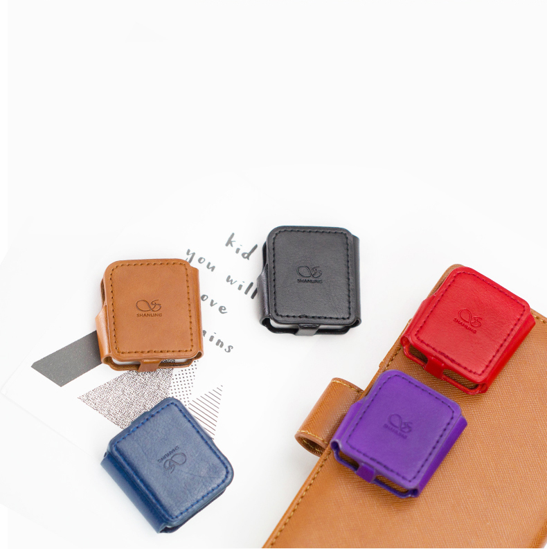 SHANLING Leather Case For M0 MP3 Player Mini DAP Music Player