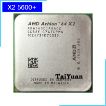 Procesador de CPU AMD Athlon 64 X2 5600 + 2,8 GHz Dual-Core ADA5600IAA6CZ Socket AM2