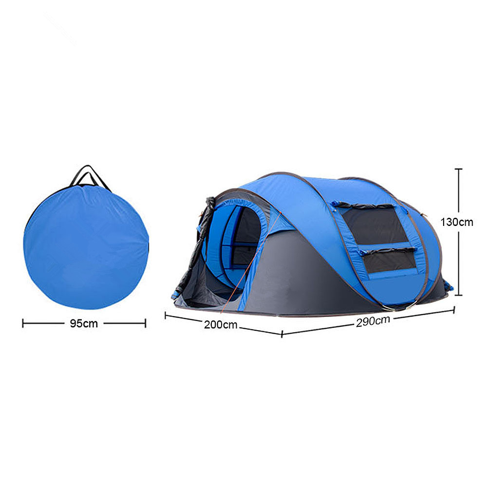 Wnnideo Instant 4 Person Pop Up Dome Tent Easy Automatic Setup Fast Pitch u0026 Fold into Portable Carrying Case (Includes Stak-in Tents from Sports ...  sc 1 st  AliExpress.com & Wnnideo Instant 4 Person Pop Up Dome Tent Easy Automatic Setup ...