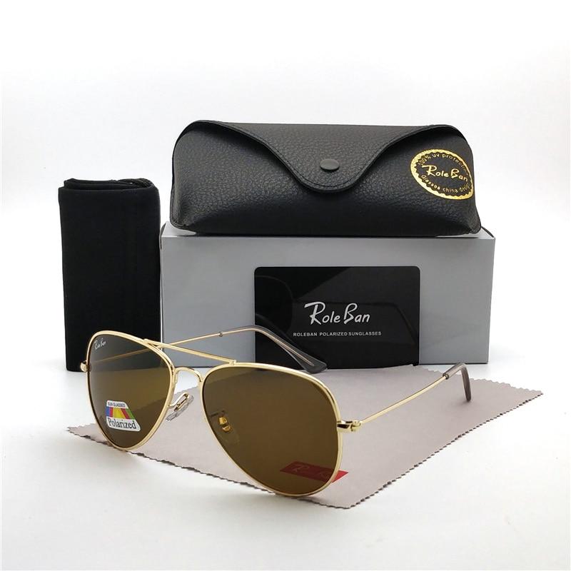 2019 Fashion Men Women Driving Polarized Sunglasses Vintage Classic Brand Design 3025 Sun Glasses Oculos Sol UV400 And Case