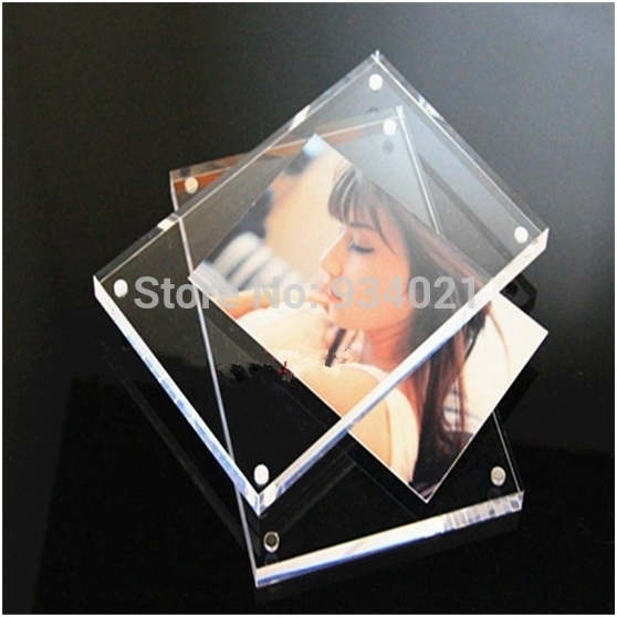 Clear Magnetic Acrylic Photo Frame 8 X 10 Plexiglass Picture Frame
