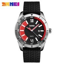 SKMEI Fashion Brand Men Quartz Watches Military Sports Silicone Watch Fashion Date Waterproof Wristwatch Clock relogio masculino цена