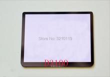 Nova Janela Screen Display LCD (Acrílica) de Vidro Exterior Para NIKON D3100 Protetor de Tela Camera + Fita