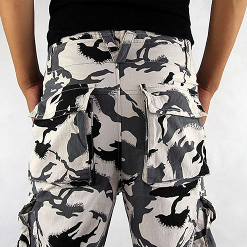 Mens Cargo Pants Millitary Clothing Tactical Pants Men Outdoor Camouflage Army Style Camo Workwear Trousers big size S-XXXL