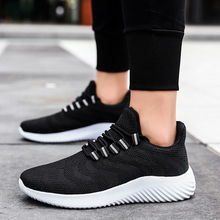 GUDERIAN 2019 Men Shoes Summer Sneakers Breathable Mens Casual Lightweight Lace Up Mesh Deportivas Hombre