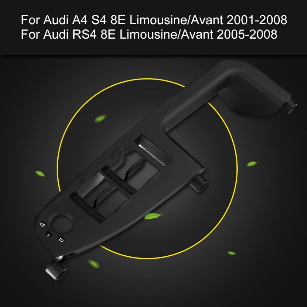 Car Window Switch Panel Trim Black Color For Audi B7 S4 Fuse Box A4 B6 Rs4 Limousine Avant 2001 2008 8e1867171b In Switches Relays From