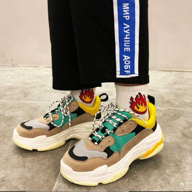 2019 Spring Fashion Joker Women Casual Shoes   Suede     Leather   Platform Shoes Women Sneakers Ladies White Trainers Chaussure Femme