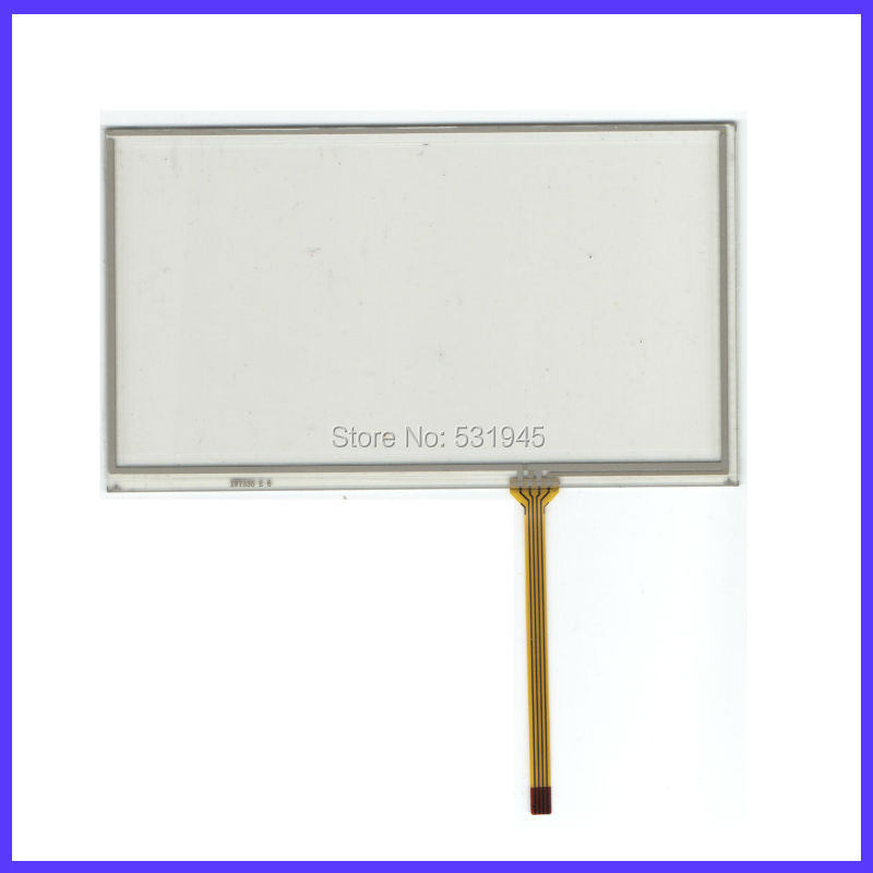 NEW Resistive tinch touch screens 6.2 inch 4 lines touch screen GLASS on display HLD-TP-1357 for CASKA3045G