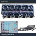 Головки цилиндров в полной сборке для Ford Maverick 2664CC 2 7 TD 8V 92-99 двигатель TD27T 1960811 11039-7F401 с полной прокладкой
