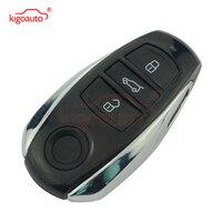 Keyless Entry Smart Remote Key Shell Case Fob 3 Button for VW Touareg 2010 2011 2012 2013 kigoauto