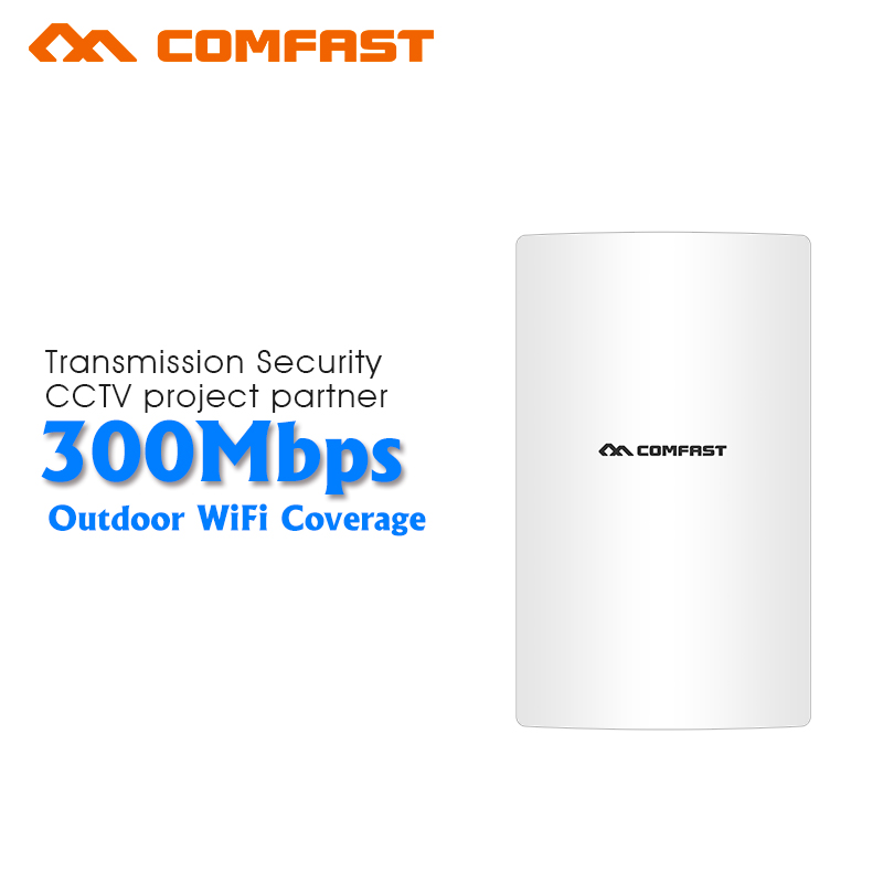 Comfast 2.4G Wireless outdoor router WIFI signal booster Amplifier Network bridge QCA9531 Dual 16dBi Antenna wi fi access
