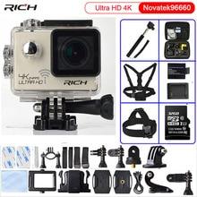 Action camera Ultra HD 4K/24fps 3840*2160 WiFi NTK96660 1080P 60fps Diving go pro Style waterproof 30M Sport Camera