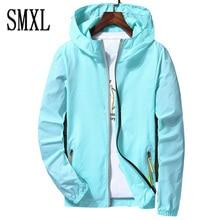 smxl plus size Lovers Summer Large 7XL fashion Sun UV Protection men Hooded Jacket Thin Breathable Beach Cardigan women coats