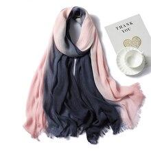 Новинка, женский шарф, модный, из кусков, хлопковые шали и палантины, женские зимние шарфы, хиджабы, повязка на шею, Женские палантины