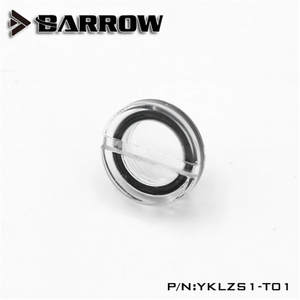 Barrow G1/4'' Acrylic Stop Plug Fitting-Transparent Water Cooling YKLZS1-T01