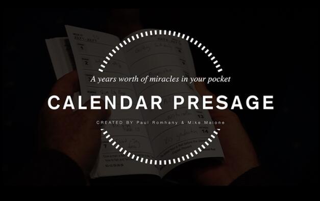 Calendar Presage by Paul Romhany-magic tricks