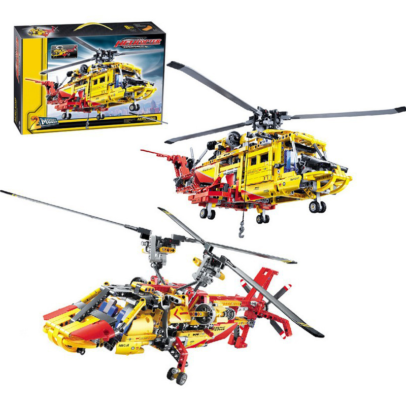 Decool 3357 Helicopter building bricks blocks Toys for children Game Car Formula 1 Compatible with Lepin Bela 9396 lepin 02005 volcano exploration base building bricks toys for children game model car gift compatible with decool 60124
