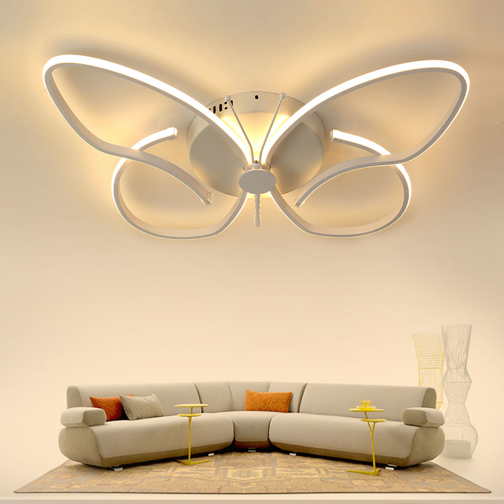 Lights & Lighting Ceiling Lights & Fans Dragonscence Modern Chandelier Led Lighting Remote Circle Chandelier Lamp For Living Room Business Salon Dining Office