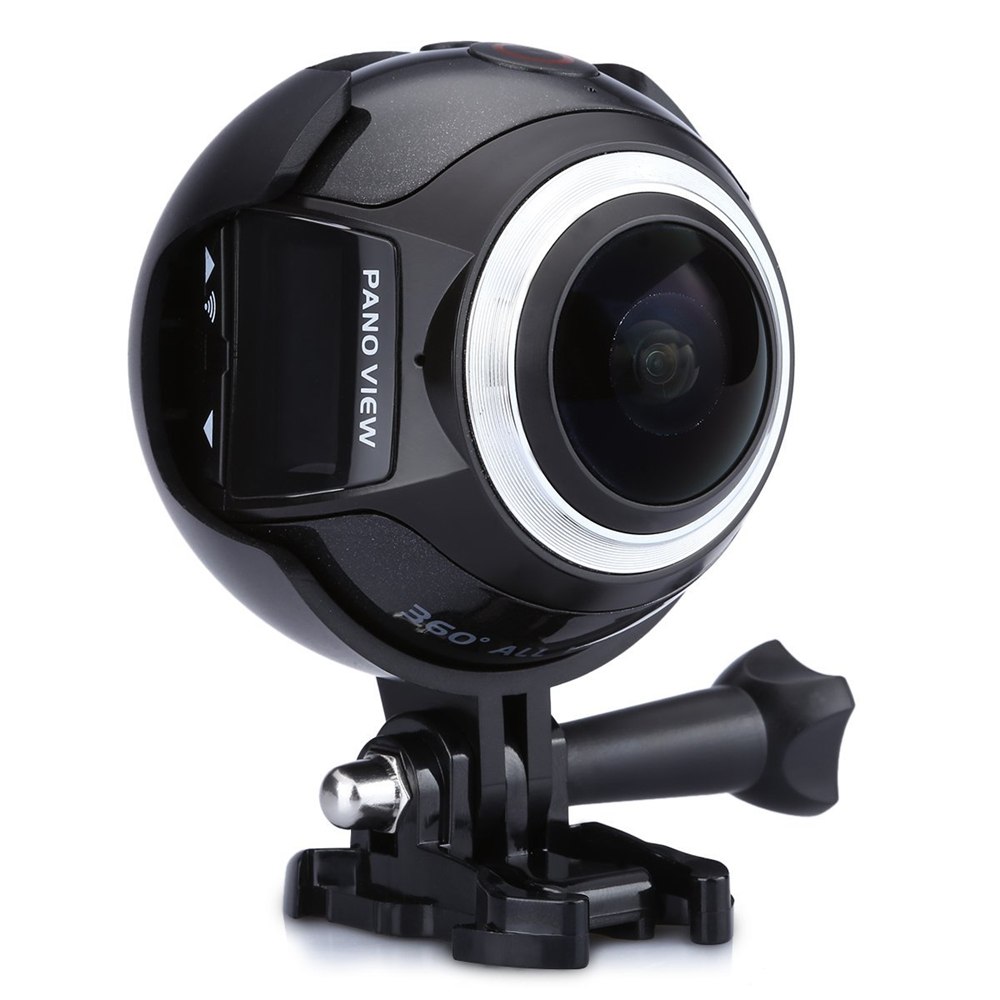 V1 Waterproof WIFI 3K 30FPS 16MP Sport Action Camera 360 Degree Ultra HDMI HD Output Mini Panoramic Video 3D VR Camera with Mult v sport st580 30