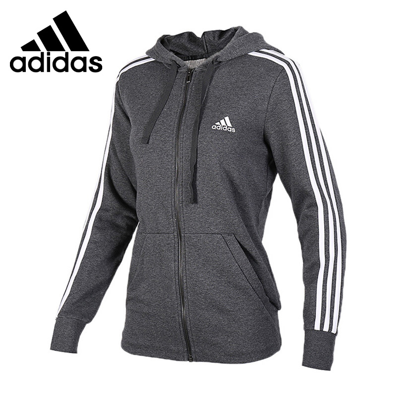 Original New Arrival 2018 Adidas ESS 3S FZH SL Women's jacket Hooded Sportswear good pc hardware huanan zhi x79 motherboard with m 2 128g ssd discount motherboard with cpu xeon e5 2680 v2 ram 64g 4 16g recc