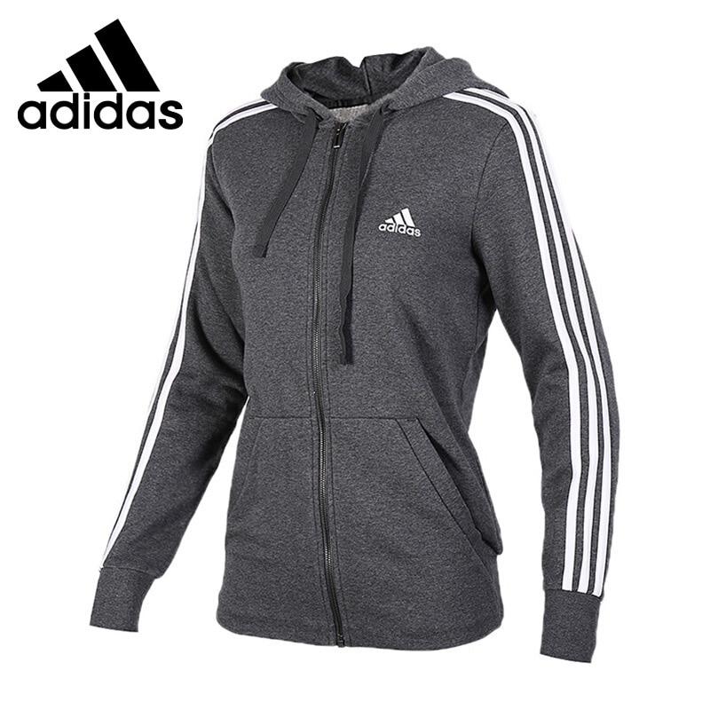 Original New Arrival 2018 Adidas ESS 3S FZH SL Women's jacket Hooded Sportswear имидж мастер мойка парикмахерская байкал с креслом лига 34 цвета бордо долларо а 502
