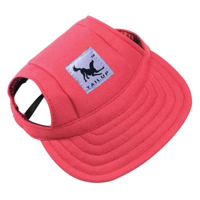Hot Dog Hat Con L'orecchio Fori Estate Tela Berretto da baseball Per Le Piccole Pet Dog Accessori Outdoor Trekking Prodotti Per Animali Domestici