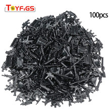 100pcs Military SWAT Police Gun Weapons Pack Army Soldiers Building Blocks Arms City Compatible With Legoingly Weapon Series