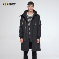 VIISHOW Long Winter Jacket Men Brand Clothing Male Cotton Autumn Coat New Top Quality Black Down