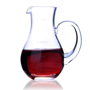 Szkło kryształowe karafka wina whisky karafka karafka do butelek z dzbankiem na dozownik do wina pojemnik z wagi domu Barware tanie i dobre opinie Zestawy barowe CE UE KRYSZTAŁ NooLim Na stanie Ekologiczne