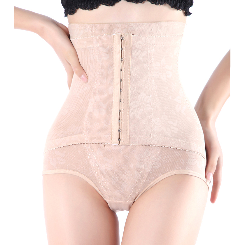 Hot Sale Sexy Control Panties Body Shaping High Waist Pants Women Slim Seamless Shaping Pants Underwear Three Color Plus Size