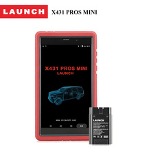 LAUNCH Official Store 100% Original X431 PROS MINI 2 years Free Update Scanpad Bluetooth /WIFI Car Diagnostic Scanner Tool