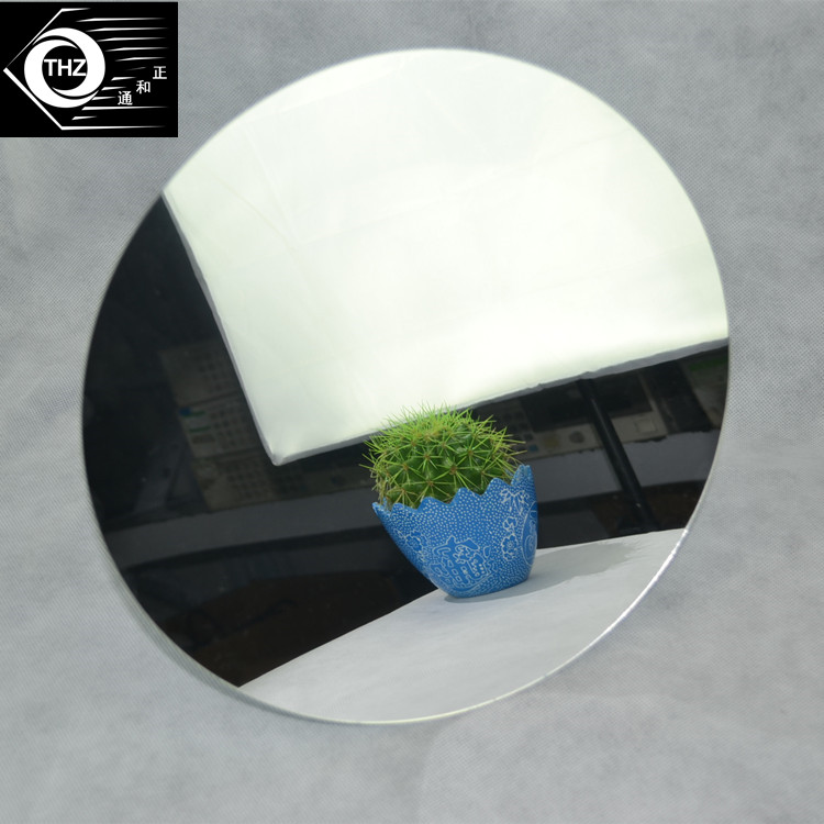 Акриловые круглое зеркало Пластик PMMA Pier Стекло отель декоративные линзы Обустройство дома не легко сломанной 8 шт./лот diameter400x3mm