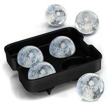 Шар лоток для льда многоразовые кубики для льда Силиконовые формы для крема форма для шоколада виски вечерние инструменты для бара форма для льда