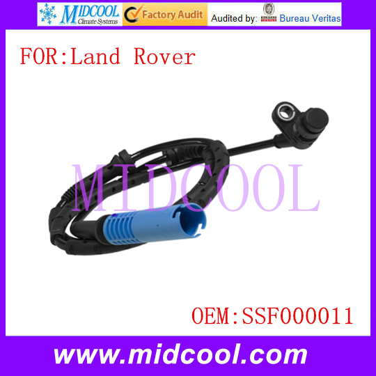 New Front ABS Sensor Wheel Speed Sensor use OE No SSF000011 for Land Rover
